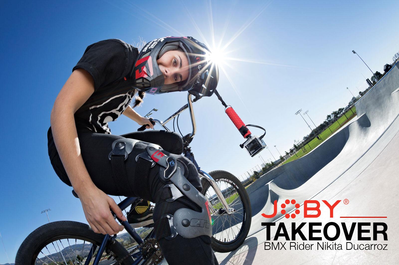JOBY Takeover: BMX Rider Nikita Ducarroz
