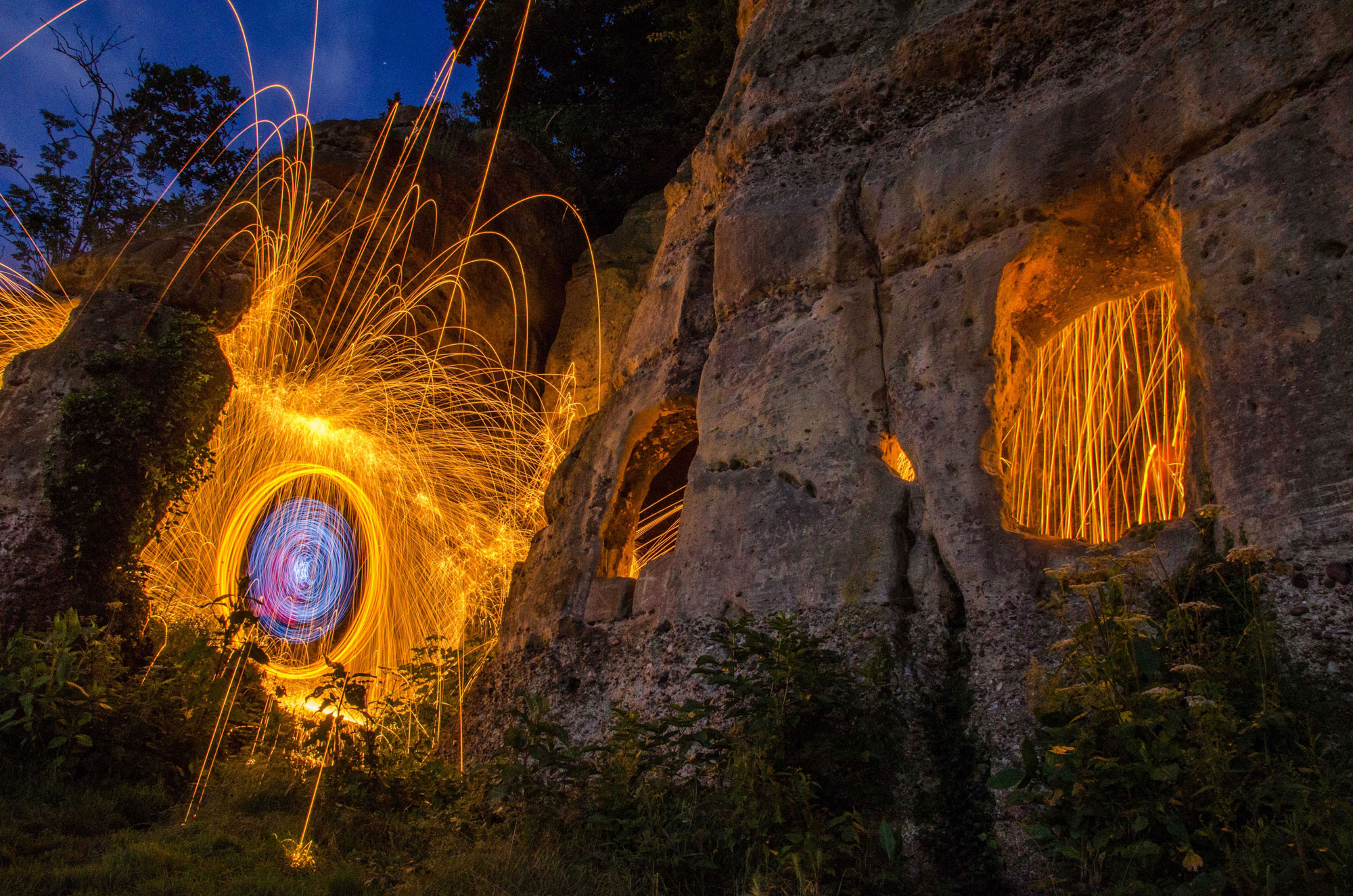 Step Into The World of Steel Wool Spinning with Dale Mears