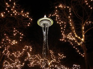 Elizabeth McKee-Seattle Space Needle Photo