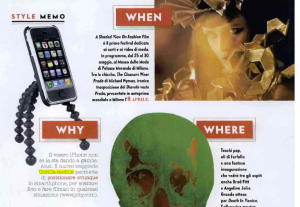 Gorilla Mobile in Italian Vanity Fair