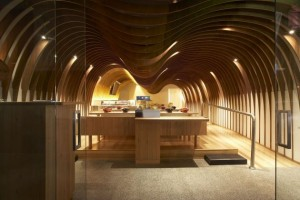 The Cave Restaurant by Koichi Takada Architects