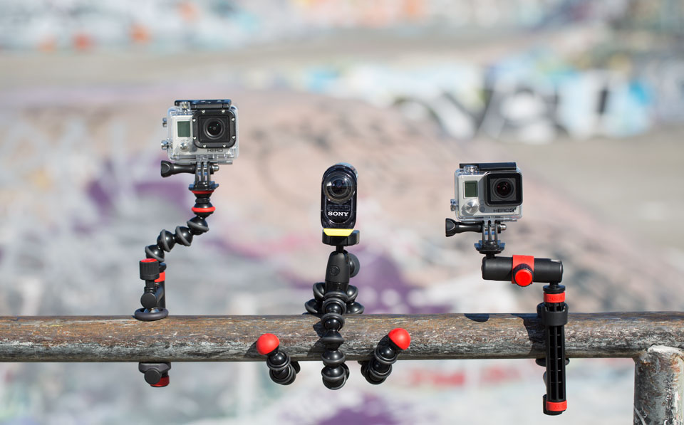 JOBY GoPro Mounts and Tripods