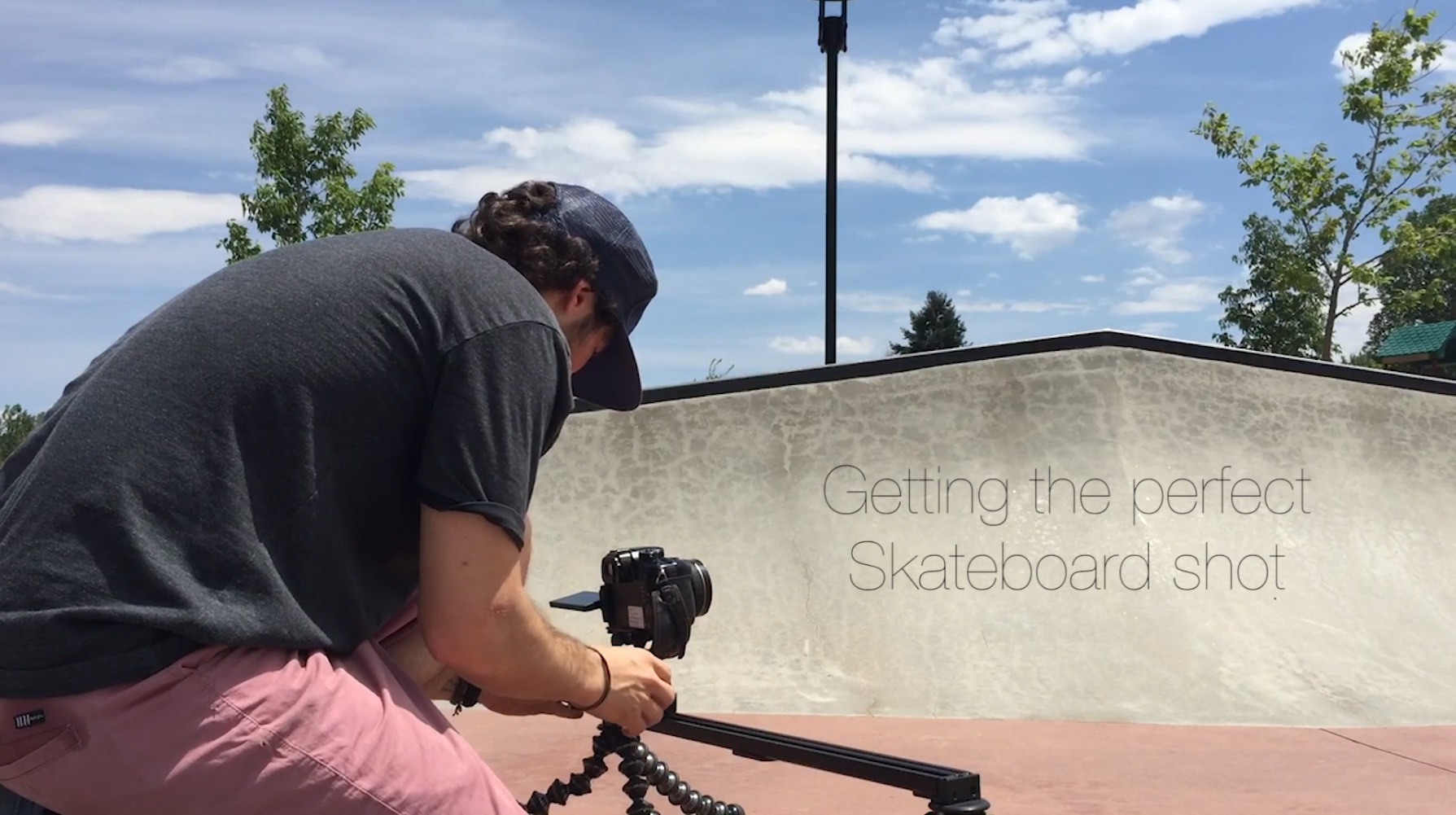 Landing The Perfect Skateboard Shot In One Minute with #JOBYAmbassadors Seth Hill